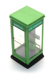 H0 | Artitec 10.397 - Telefooncel 1100 groen jaren 80 - 90 (kit)