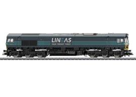 H0 | Trix 22693 - Lineas, Diesellocomotief Class 66 (DC sound)