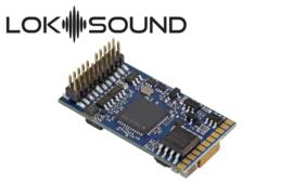 "H0   Esu 58412 - LokSound 5 DCC/MM/SX/M4 ""Leerdecoder"", PluX22, met Luidspreker 11 x 15mm, 0, H0"