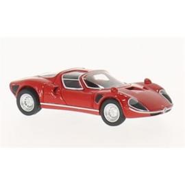 H0 | BoS-Models 87195 - Alfa Romeo Tipo 33 Stradale, donkerrood, 1967