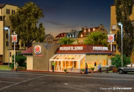 H0 | Vollmer 43632 - Burger King restaurant met interieur en LED verlichting