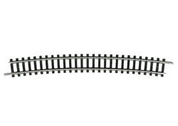 N | Minitrix 14928 - Gebogen rail R6, 15°