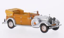 H0 | BoS-Models 87030 - Rolls Royce Phantom II Thrupp & Maberly, oranje/aluminium, RHD, 1934, Star of India