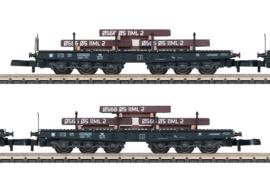 Z | Märklin 82358 - Set wagens voor zware lasten