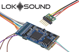 "H0 | Esu 58416 - LokSound 5 DCC/MM/SX/M4 ""Empty decoder"", 6-pin NEM651, with speaker 11 x 15mm, 0, H0"
