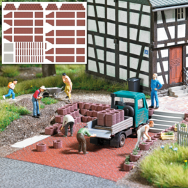 H0 | Busch 7871 -Planters and Palisades Reddish Brown