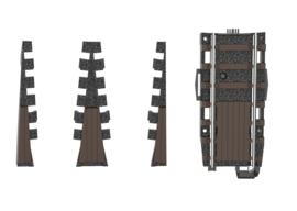 H0   Trix 66871 - Uitbreiding van de draaischijf 66861