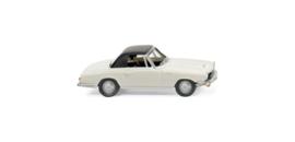H0   Wiking 018699 - Glas 1700 GT Cabrio, wit (1)