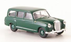 H0 | Brekina Starmada 13453 - Mercedes 180 Kombi (W120), dark green, without cardboard slipcase