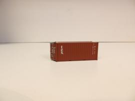 H0 | PT Trains 820008 - Container 20' met beweegbare deuren - TEX