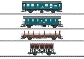 """H0   Märklin 46690 - DB, Set wagens """"werktrein""""."""