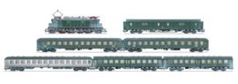 H0 | Märklin 26804 - DB, Personentrein met BR 117, besneeuwd