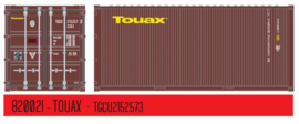 H0 | PT Trains 820021 - Container 20' DV TOUAX