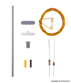 H0 | Viessmann 6726 - Platformlamp, witte LED, kit