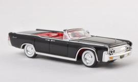 H0 | Ricko 38422 - Lincoln Continental Convertible, black, 1963