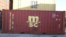 H0 | PT Trains 820014 - Container 20' DV MSC
