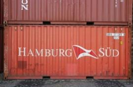H0 | PT Trains 820007.1 - Container 20' DV HAMBURG SÜD