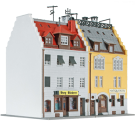N | Kibri 37163 - City houses at 1900, 2 pieces
