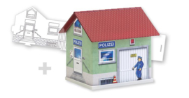 H0 | Faller 150150 - BASIC Politie, incl. 1 schildervariant