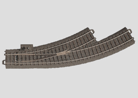 H0 | Märklin 24671 - Bochtwissel links R360 mm - 30Gr (C-rail)