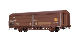 "H0 | Brawa 48978 - DSB, Schuifwandwagen HBIS ""Post"""