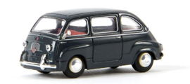 H0 | Brekina 22451 - Fiat Multipla, mouse gray. (TD model)