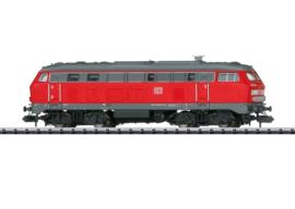 N | Minitrix 16823 - DB AG, Diesellocomotief serie 218 (digitaal sound)