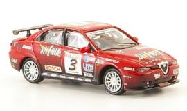 H0   Ricko 38840 - Alfa Romeo 156 GTA, No.3, Selenia, 2003, N.Larini