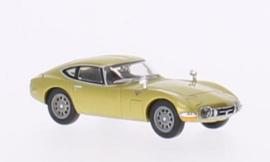 H0 | Ricko 38316 - Toyota 2000 GT, goud, RHD