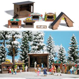 H0 | Busch 1183 - Woud-kerstmarkt