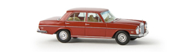 H0 | Brekina Starmada 13106 - Mercedes Benz 280 SE 4.5, signal red, without cardboard slipcase