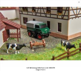 H0 | Carson 500504126 - Unimog U406 Forst