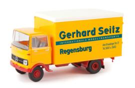 H0 | Brekina 48548 - MB LP 608 Koffer Gerhard Seitz