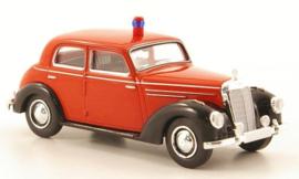 H0 | Brekina Starmada 13057 - Mercedes 220 (W187), brandweer, zonder omkarton
