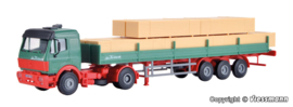 H0 | Kibri 14641 - MB SK truck with semi-trailer and load of wood