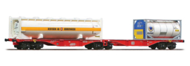 H0 | ACME 40352 -DB AG, Containerwagen Sggrss 80