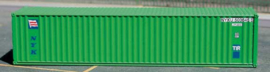 N | De Luxe 5300 - set 40' containers NYK Line green / corrugated