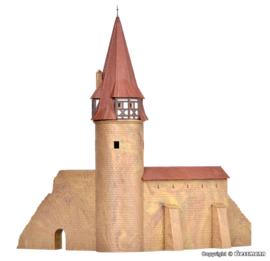N   Kibri 37109 -  Ronde toren met muur