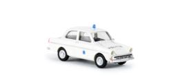 "H0 | Brekina 27707 - DAF 750 ""Politie"" (NL)"