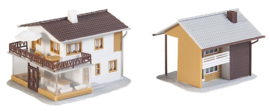 N | Faller 232522 - Shop and detached house