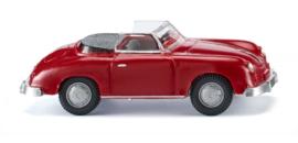 H0   Wiking 016003 - Porsche 356 Cabrio - signal red (1)