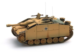 H0 | Artitec 387.50-YW - StuG III G Sturmhaubitze donkergeel