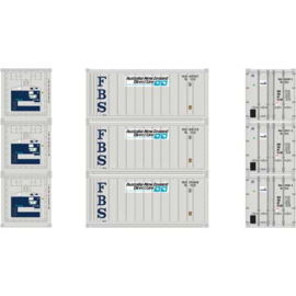 H0 | Athearn ATH28848 - 20' Reefer Container, ANZ (3)