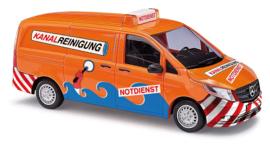 "H0 | Busch 51138 - Mercedes-Vito, ""Kanal-Reinigung"""