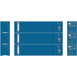 H0 | Athearn ATH29186 - Container 3 Pack 40' – PIL
