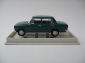 H0 | Brekina 22402 - Fiat 124, green.