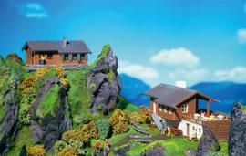 N | Faller 232503 - Hunters house and mountain inn