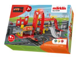 H0 | Märklin my world 72219 - brandweerkazerne met licht- en geluidsfuncties