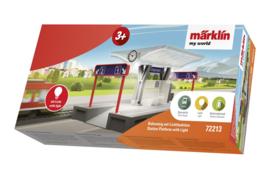 H0 | Märklin my world 72213 - perron met lichtfunctie