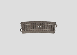 H0 | Märklin 24294 - Gebogen schakelrail R437,5 mm - 15Gr (C-rail)